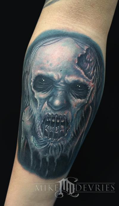 Mike DeVries - Zombie Tattoo